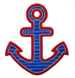 Anchor clipart chevron anchor