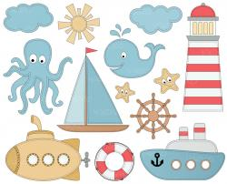 Anchor clipart coral