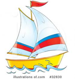 Sailing Boat clipart illustration