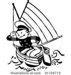 Sailor clipart black and white