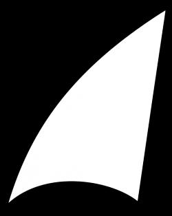 Sailing clipart shark fin