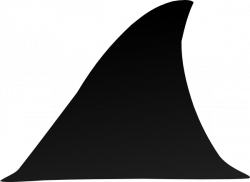Fins clipart grey shark