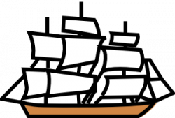 Sailing Ship clipart british