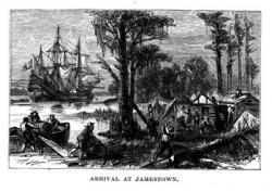 Pilgrim clipart jamestown