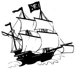 Sailing Ship clipart historical fiction
