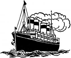 Titanic clipart navy ship