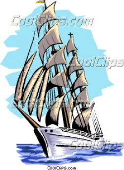 Caravel clipart rigged