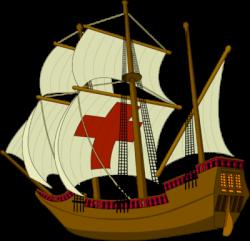 Caravel clipart mayflower