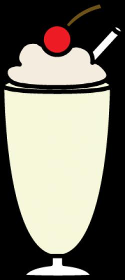 Malt clipart vanilla milkshake