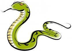 Serpent clipart skinny