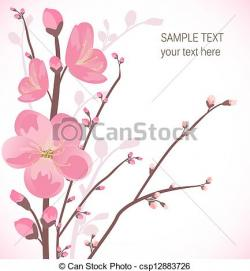 Cherry Blossom clipart graphic