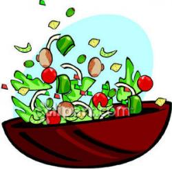 Fresh clipart salad