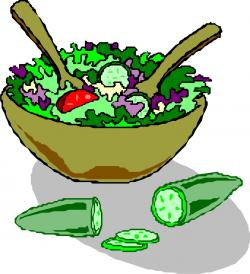 Fresh clipart salad bowl