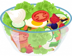 Fresh clipart salad bar