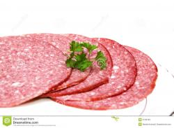 Salami clipart deli meat