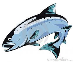 Fish clipart salmon