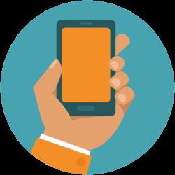 Samsung Galaxy clipart phone icon