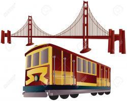 Trolley clipart san francisco cable car