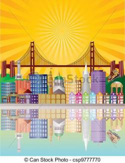 San Francisco clipart San Francisco Illustration