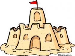 Sand Castle clipart
