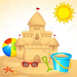 Sand Castle clipart animated