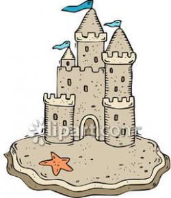Sand Castle clipart cute