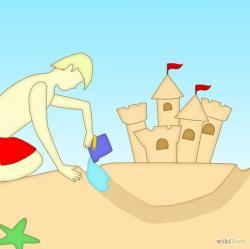Sand Castle clipart moat