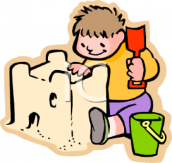 Sand Castle clipart sand play