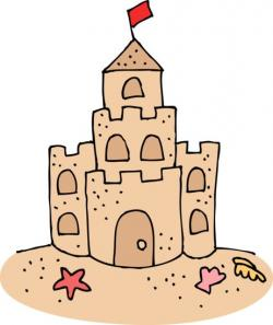 Sand Castle clipart underwater castle