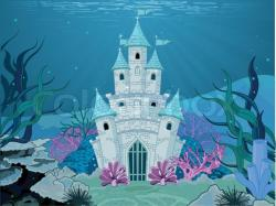 Palace clipart underwater castle