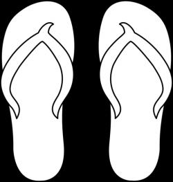 Single clipart flip flop