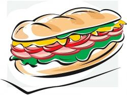 Grinder clipart sandwich
