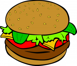Burger clipart sandwich