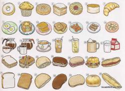 Sandwich clipart cafe food