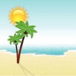 Sandy Beach clipart