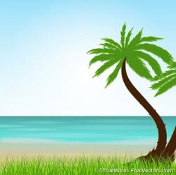 Tropics clipart tropical background