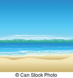Coast clipart beach background