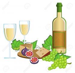 Vineyard clipart wine tasting