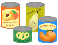Sardines clipart canned fruit