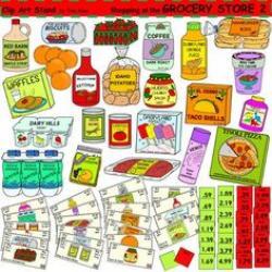 Sardine clipart grocery item