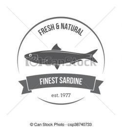 Sardines clipart packaged food