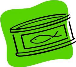 Tuna clipart canned tuna