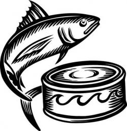 Sardines clipart tuna can