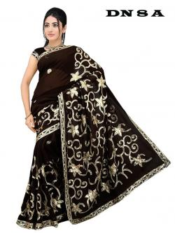 Saree clipart black and white