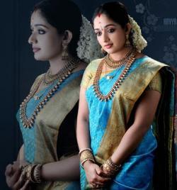 Saree clipart colour