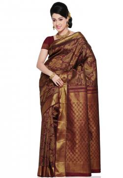 Saree clipart kanchipuram