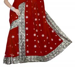 Saree clipart only