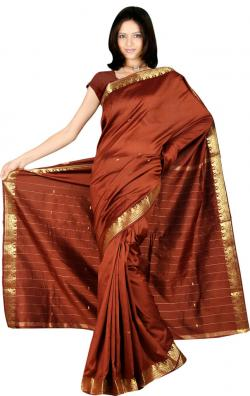 Saree clipart silk