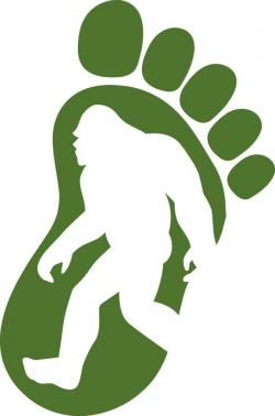Footprint clipart sasquatch