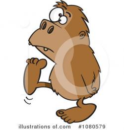 Bigfoot clipart foot
